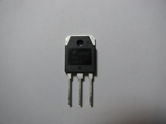 Transistor Mosfet Fqa70n15 150v 70a Fonte Inversor