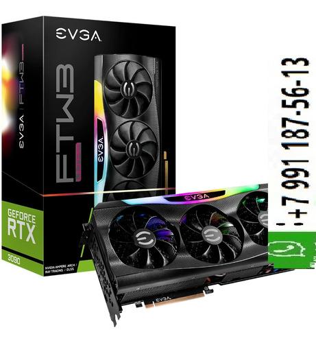 Imagen 1 de 3 de Evga Geforce Rtx 3080 Ftw3 Gaming 10gb Gddr6x Pci Express 4