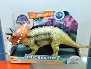 Dinosaurio Triceratops 50 Cm