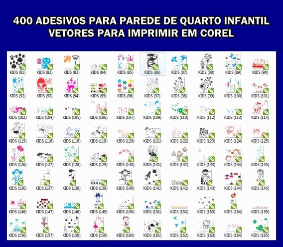 Adesivos Para Quartos De Crianças 400 Modelos Vetorizados