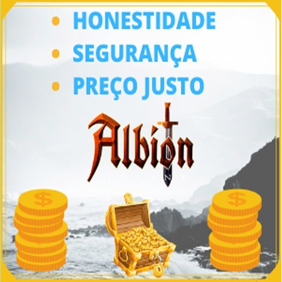 Albion Online 10kk Prata / Silver - Rápido E Seguro