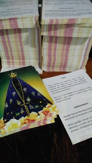 Santinho Nossa Senhora Aparecida - Milheiro - Offset