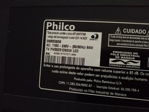 Tv Philco 55 Pol - Ph55e51dsgw Led - Peças