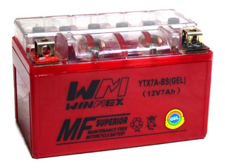 Bateria Gel Motoneta Ytx7a-bs Italika Vento 6 Meses Garantia