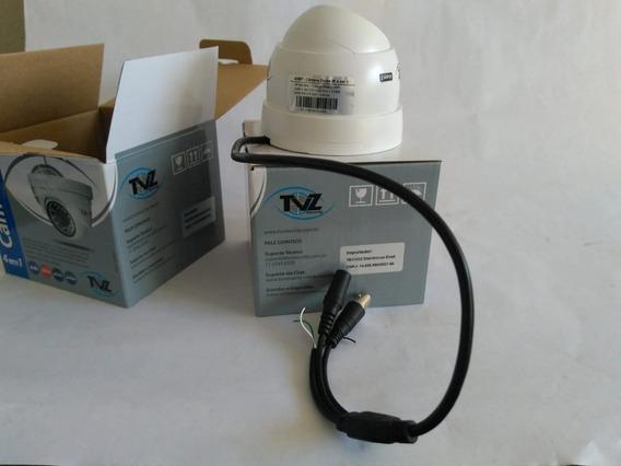 Câmera Dome Flex Tecvoz Tvz 4dmp 720p 1mega Uso Interno
