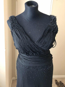 12c3bc17e Vestido Conjunto Pollera+ Top Negro Bordado