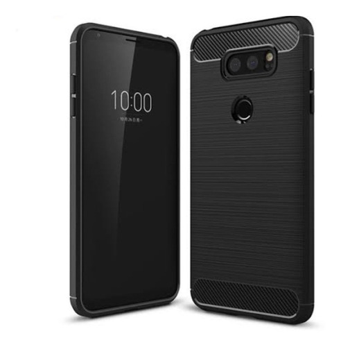 Case Carbono Original Antishock LG V35 Thinq, Q Stylus Plus