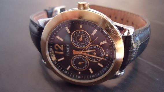 Relogio Timex Wr 50m Lindo Uso Ou Coleção Em Otimo Estado