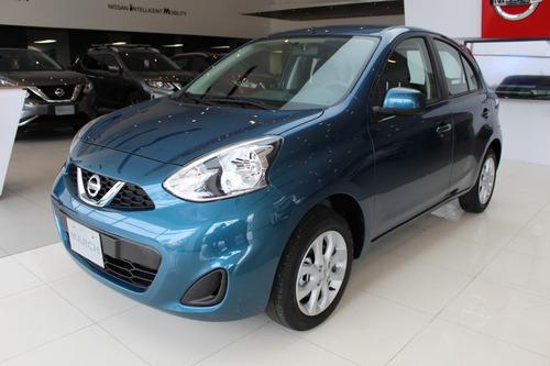 Nissan March Sense Motor 1.6 Modelo 2021 Azul 5 Puertas