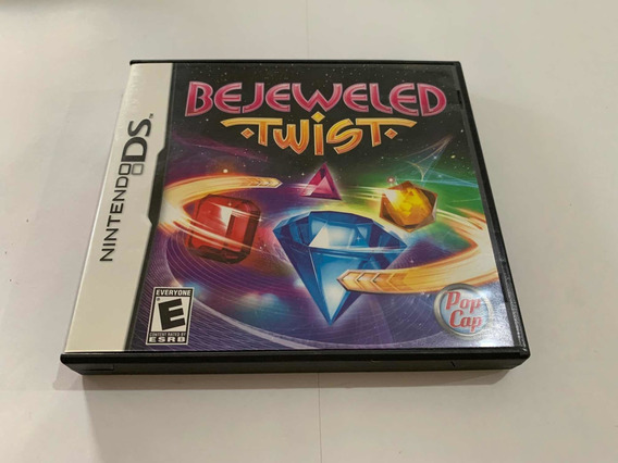 Bejeweled Twist Nintendo Ds Dsi 2ds 3ds Jogo Original Game