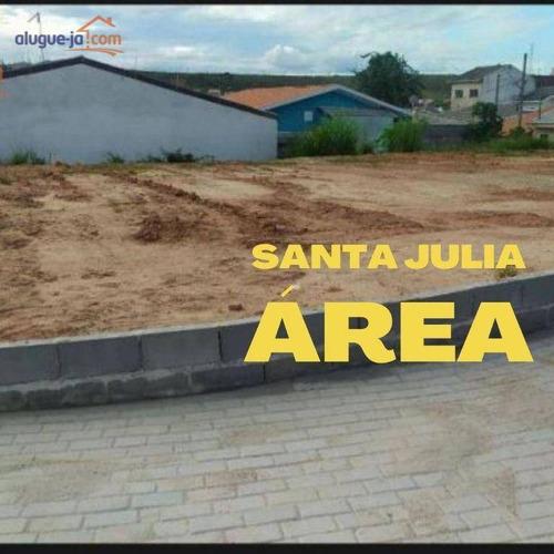 Imagem 1 de 13 de Área À Venda, 758 M² Por R$ 700.000,00 - Jardim Santa Júlia - São José Dos Campos/sp - Ar0058