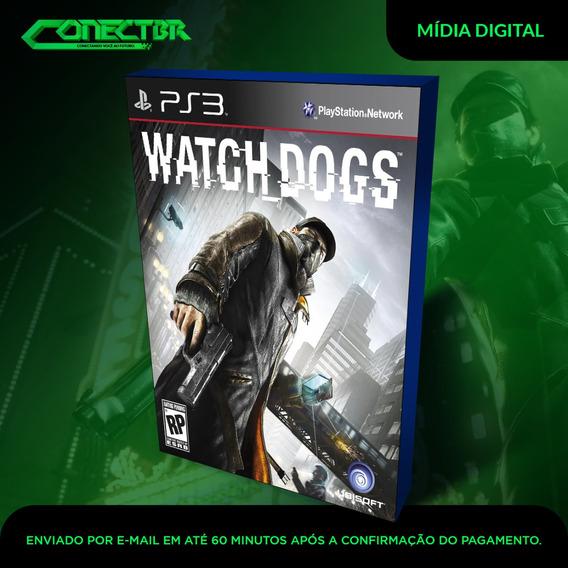 Watch Dogs Ps3 Dublado Em Pt Br - Código Psn - Receba Hoje