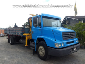 Mercedes Benz L 1620 4x2 Munck Madal Md 8500 Revisado Oferta