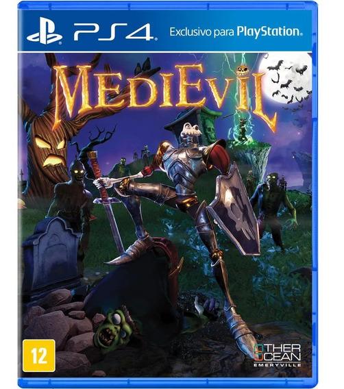 Game Medievil Ps4 Midia Fisica Novo Original Dublado Barato