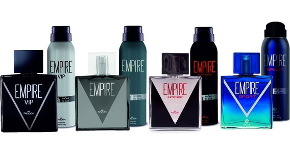 Kit Empire + Desodorante Tradiciona Intense Vip Sport Hinode