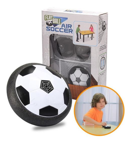Flat Ball Air Soccer De Mesa 2 Gols 2 Rebatedores