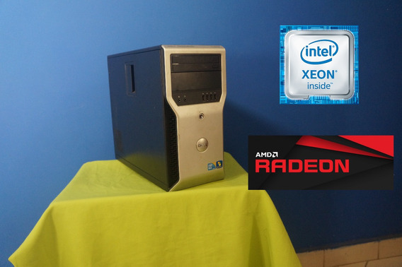 Workstation Xeon Com 16gb De Ram 2tb De Hd E Rx 460 2gb