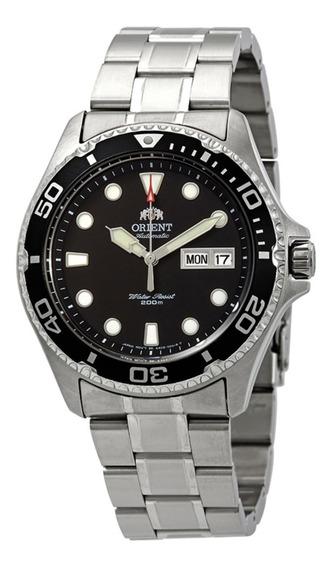 Relógio Orient Ray 2 Preto Automatic 200m Divers Faa02004b9