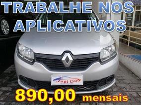 Renault Sandero 1.0 - Trabalhe Na Uber 99 Pop