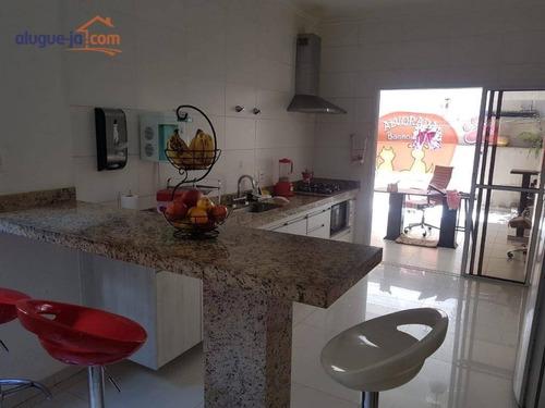 Sobrado Com 3 Dormitórios À Venda, 150 M² Por R$ 470.000,00 - Jardim Alvorada - São José Dos Campos/sp - So1248