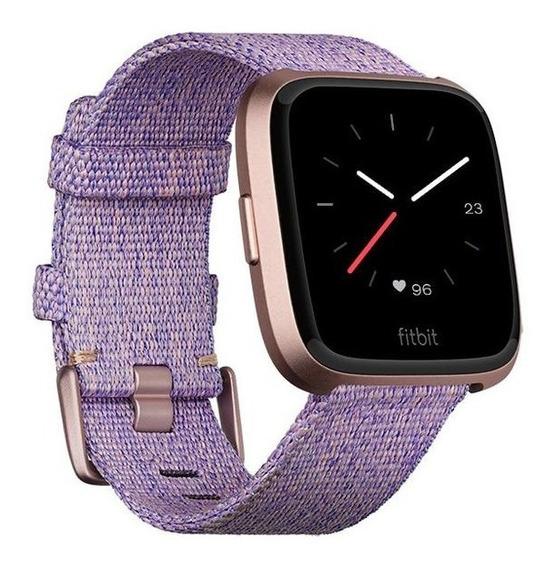 Smartwatch Fitbit Versa Edición Especial Lavanda (con Nfc)