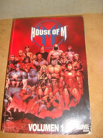 House Of M Volumen 1 Marvel Mexico Omnibus