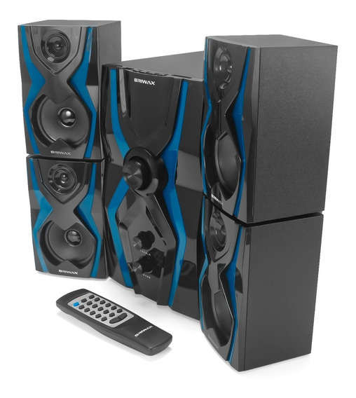 Home Theater Bluetooth Sound 4.1 Briwax Tv Pc Note Usb Sd Fm