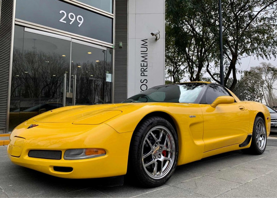 Gd Motors Chevrolet Corvette Z06 Manual Amarillo 02 Pat 2014