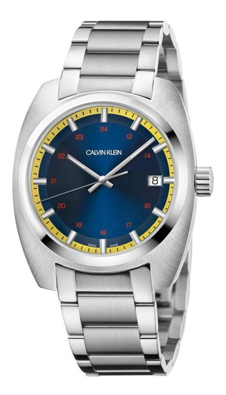Relógio Masculino Calvin Klein Achieve Aço Prata K8w3114n
