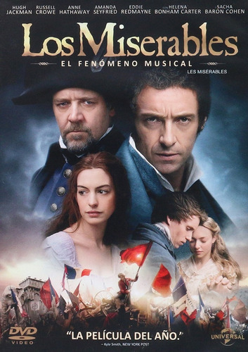 Los Miserables Les Miserables 2012 Hugh Jackman Pelicula Dvd