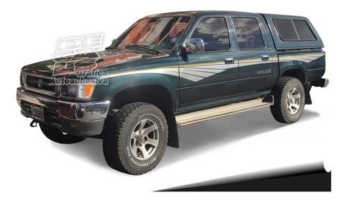Calco Toyota Hilux Sr5 1995 - 1999 Juego