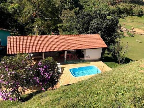 Imagem 1 de 7 de Chácara Com 2 Dormitórios À Venda, 72000 M² Por R$ 980.000 - Turvo - São José Dos Campos/sp - Ch0324