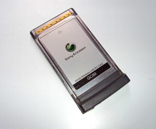 Placa Pcmcia Gc89 Edge/wireless Sony Ericsson P/ Notebook