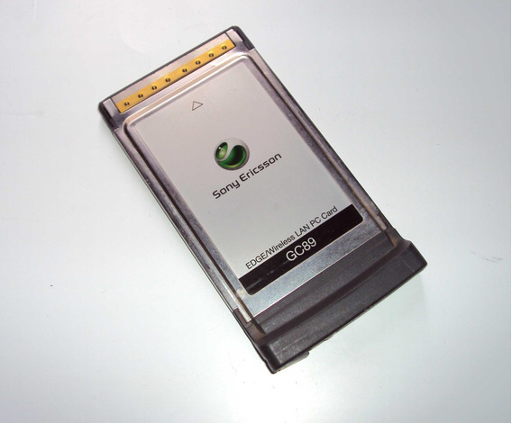 Placa Pcmcia Gc89 Edge/wireless Sony Ericsson P/ Notebook