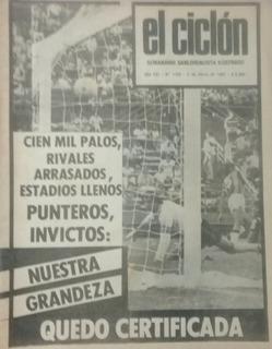 Revista El Ciclón N°1159.almirante Brown 0 San Lorenzo 1