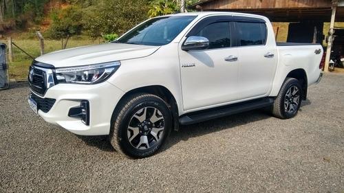 Imagem 1 de 8 de Toyota Hilux 2020 2.8 Tdi Srx Cab. Dupla 4x4 Aut. 4p