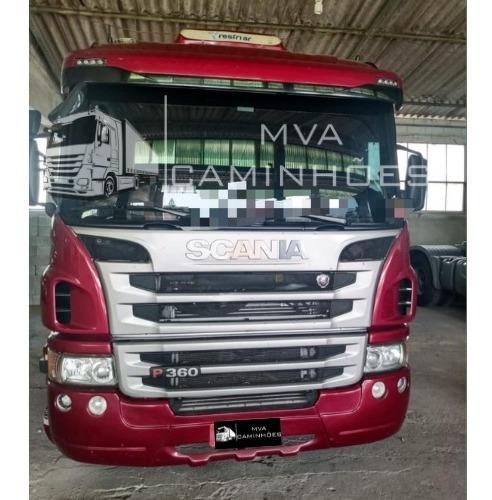 Imagem 1 de 12 de Caminhão Scania P 360 - 6x2 T