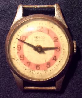 Antiguo Reloj Berco Suizo A Reparar