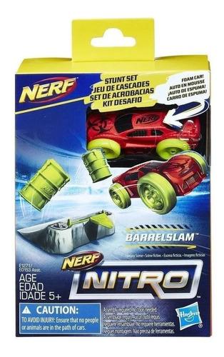 Nerf Nitro Set De Acrobacias Barrelslam Envio Full  (1457)