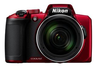 Cámara Digital Nikon Coolpix B600 Bridge 16mp 1/2.3 , Roja