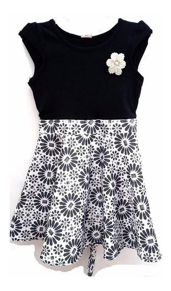 Vestido De Festa Feminino Infantil Para Criança- 012550