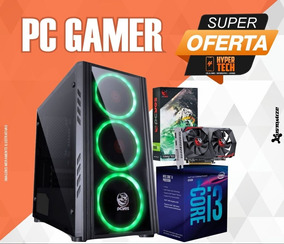Pc Cpu Gamer Intel I3 8100 8gb Ddr4 Gtx 1050 Ti 4gb Hd 500