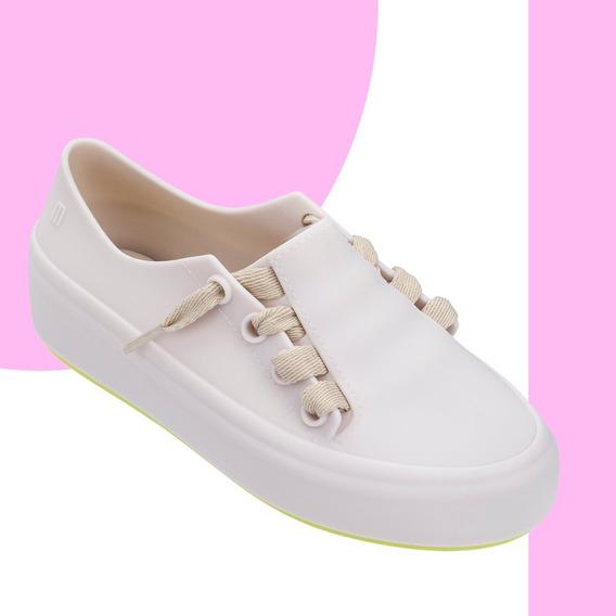 Melissa Infantil Mel Ulitsa Sneaker Rosa Bege Preto Original + Nf