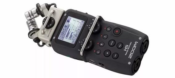 Gravador Handy Zoom H5 C/ Sistema Intercambiável + Nfe