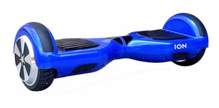 Patineta Electrica Scooter Autobalanceado Bt Azul- Ion