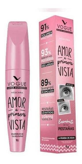 Mascara Pestañas Vogue Amor A Primera Vista A Prueba De Agua