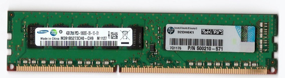 Memoria Ecc Udimm 4gb Workstation Pc3-10600e Hp 500210-571