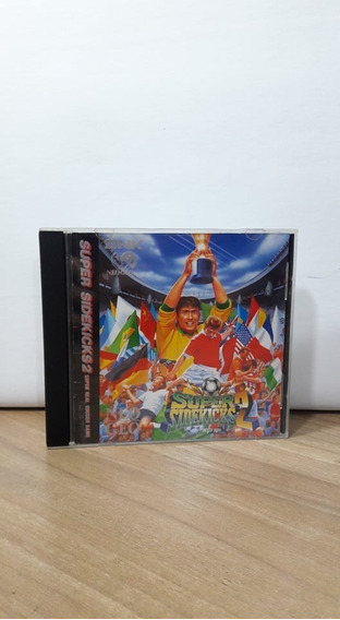 Super Sidekicks 2 Neo Geo Japonês Original