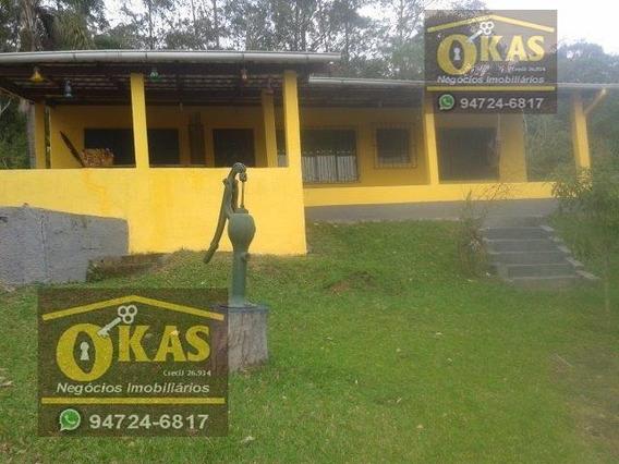 Chácara Para Venda Em Suzano, 5ª Divisão, 3 Dormitórios, 2 Banheiros, 11 Vagas - Ch0012_1-1528682