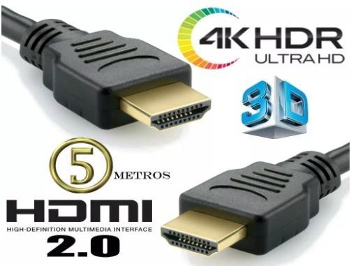 Cabo Hdmi 3 Metros 2.0 - Mxt - M. Full